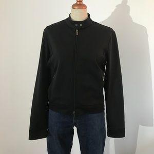 Host Pick - Ralph Lauren Black Moto Jacket  - L